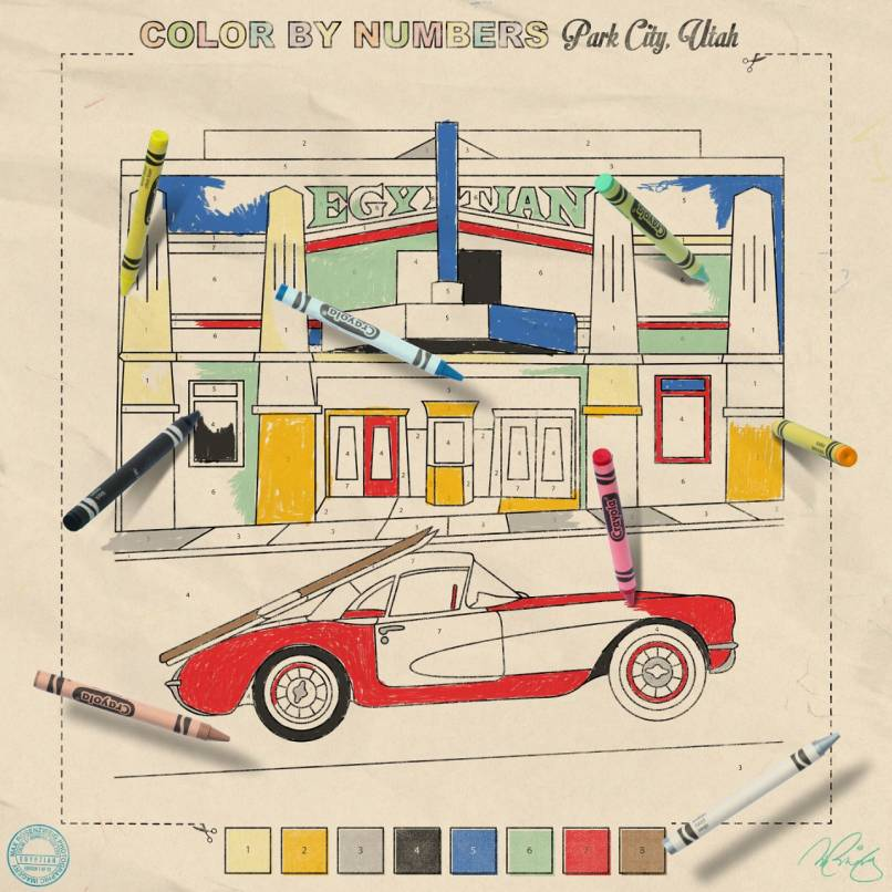 Color by Numbers:  Egyptian
