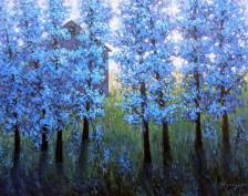 Blossoms in Blue