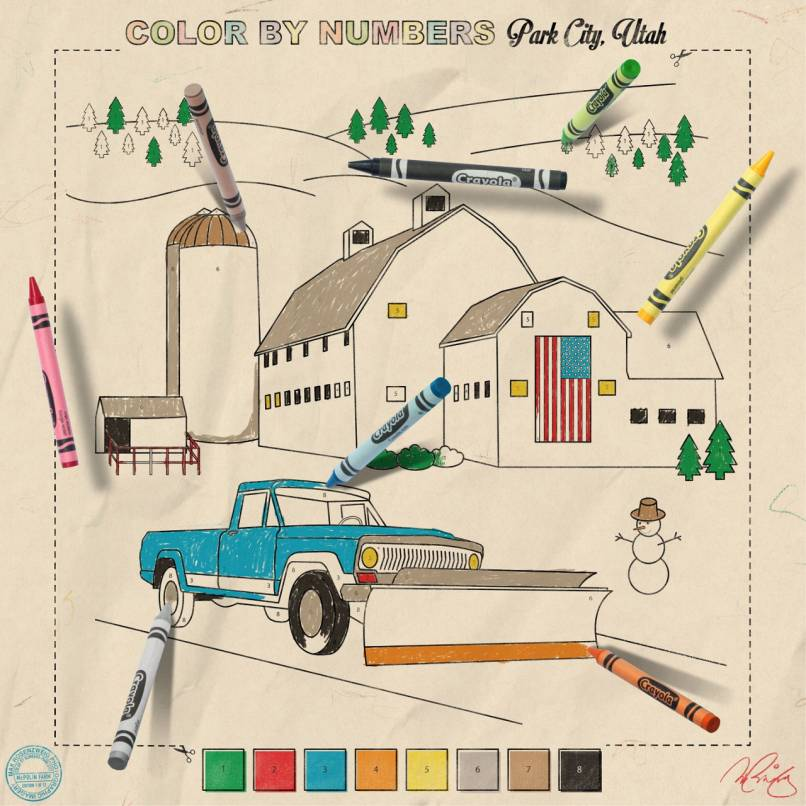 Color by Numbers:  McPolin Farm