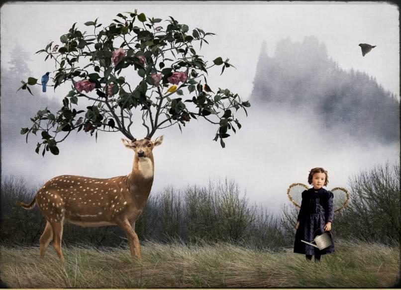 Deer Gardener (Large)