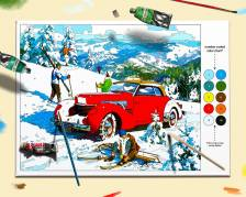 Paint by Numbers; Sled Patrol