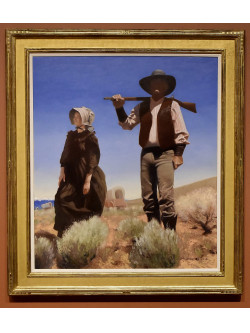 "Booth Western Art Museum Acquire's Gary Earnest Smith ""Oregon Pioneers"""